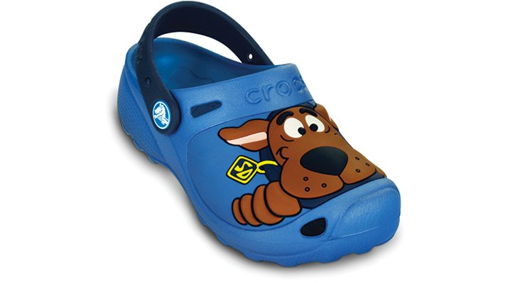 Crocs Sea Blue / Navy Scooby Doo Ii Custom Clog Kids' Comfortable Character Clogs