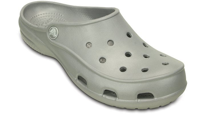 Crocs Silver Women's Crocs Freesail Clog Shoes