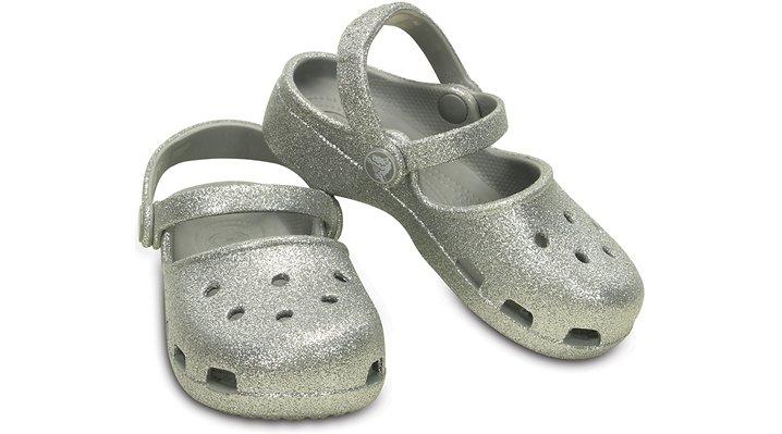 クロックス 公式オンラインショップ【クロックス公式】【送料無料】【最短翌日お届け】 クロックス カリン スパークル クロッグ キッズ - Crocs Karin Sparkle Clog Kids 19cm ブラック クロッグ(定番) サンダル