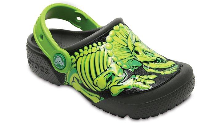 Crocs Slate Grey Kids' Crocs Fun Lab Clog Shoes