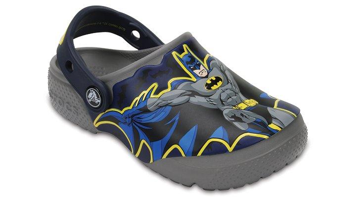 Crocs Smoke Kids' Crocs Fun Lab Batman™ Clogs Shoes