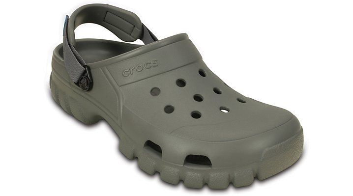 Crocs Smoke / Charcoal Offroad Sport Clog Shoes