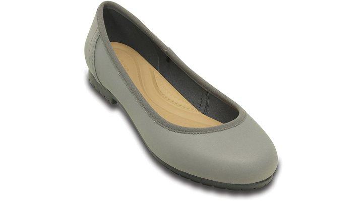 Crocs Smoke / Graphite Women'S Marin Colorlite™ Flat Shoes