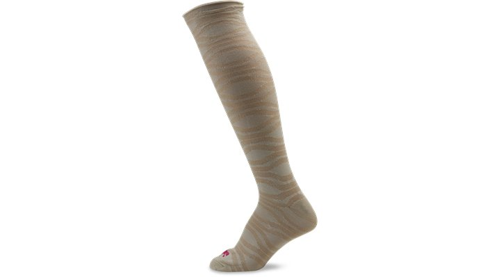 Crocs Stucco Women's Roll Top Textured Knee High Socks Shoes $ 4.99