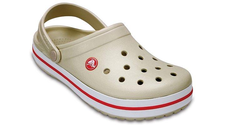Crocs Stucco / Melon Crocband™ Clog Shoes