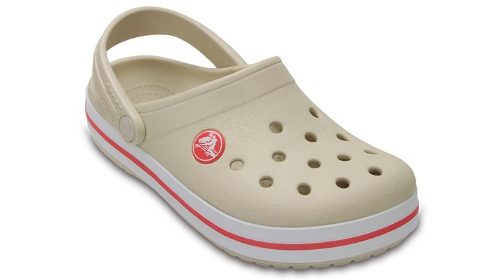 Crocs Stucco / Melon Kids' Crocband™ Clog Shoes