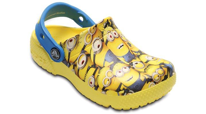 Crocs Sunshine Kids' Crocs Fun Lab Minions™ Graphic Clog Shoes