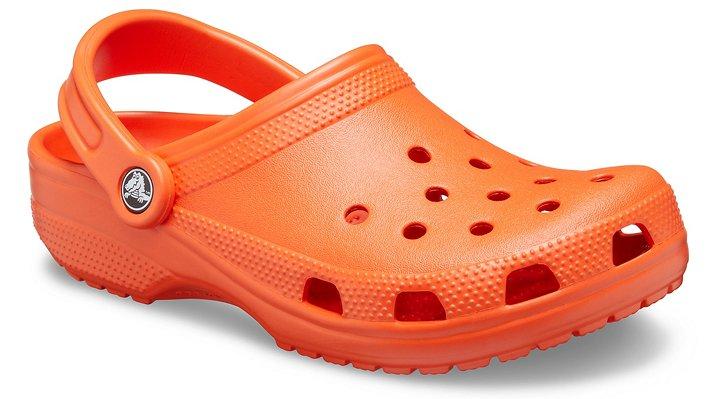 Crocs Tangerine Classic Clog Shoes