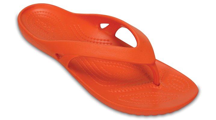 Crocs Tangerine Women'S Kadee Ii Flip Shoes