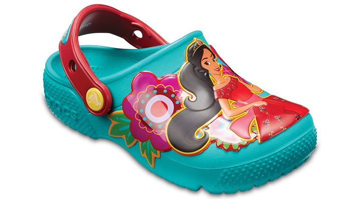 Crocs Tropical Teal Kids' Crocs Fun Lab Elena Of Avalor™ Clogs Shoes