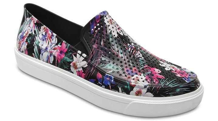 Crocs Tropical Women's Citilane Roka Graphic Slip-Ons Shoes