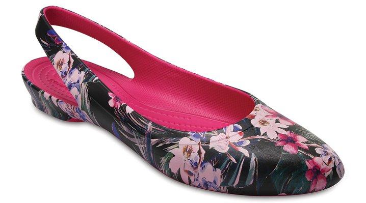 Crocs Tropical Women's Crocs Eve Graphic Slingback Shoes