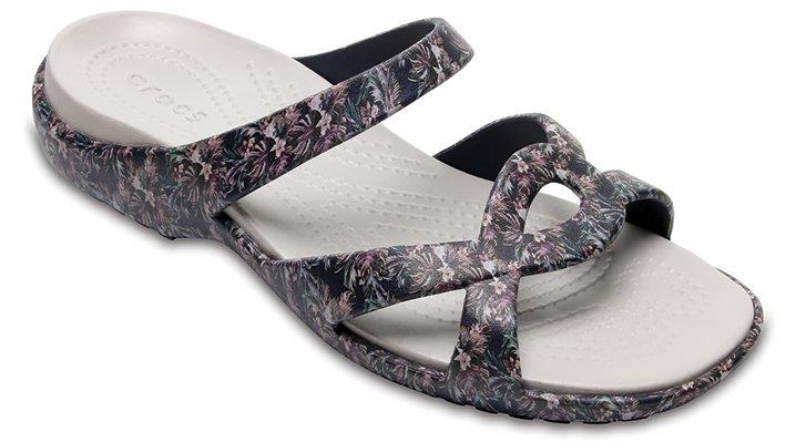 Crocs Tropical Women's Meleen Twist Graphic Sandal Shoes
