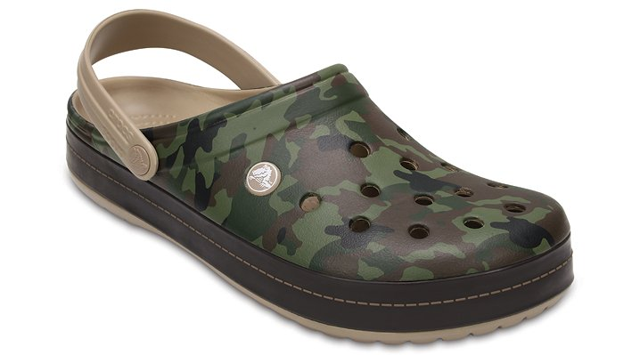 Crocs Tumbleweed Crocband™ Camo Ii Clog Shoes