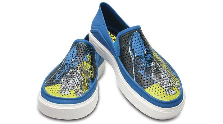 Crocs Ultramarine / White Men's Citilane Roka Star Wars™ 40Th Anniversary Slip-Ons Shoes