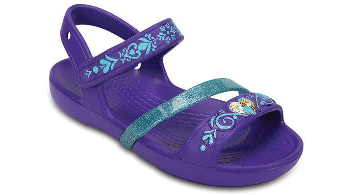 Crocs, Inc. Crocs Ultraviolet Kids' Crocs Lina Frozen� Sandals Shoes
