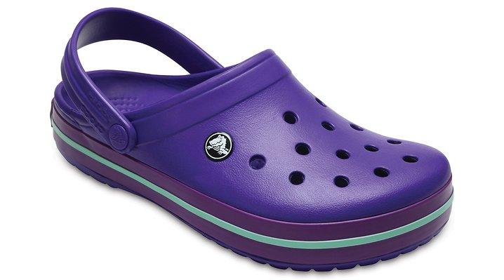 Crocs Ultraviolet/Amethyst Crocband™ Clog Shoes