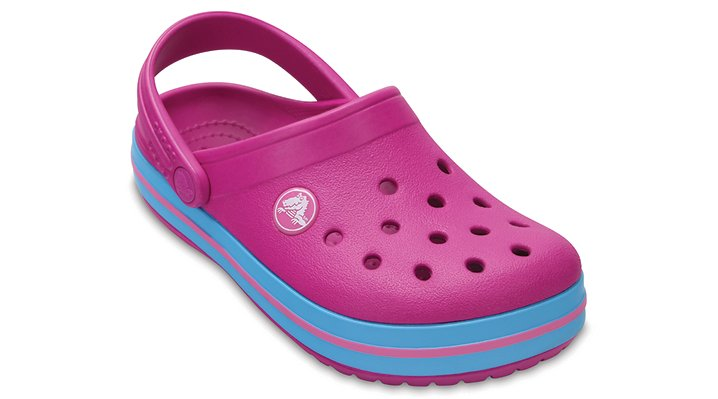 Crocs Vibrant Violet Kids' Crocband™ Clog Shoes