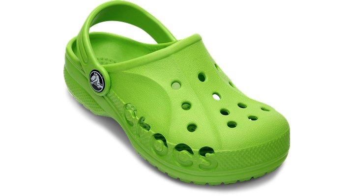 Crocs Volt Green Kids' Baya Shoes