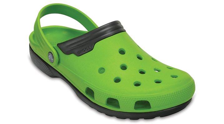 Crocs Volt Green / Graphite Duet Shoes