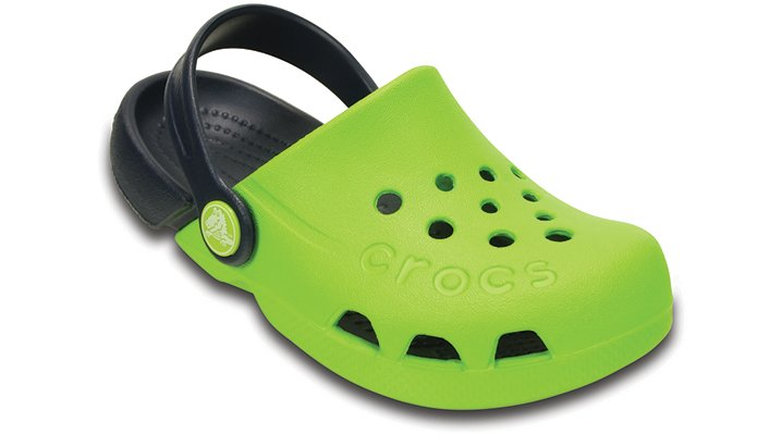 Crocs Volt Green / Navy Electro Shoes