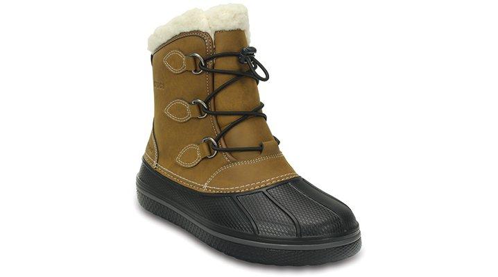 Crocs Wheat Kids' Allcast Ii Boot Shoes