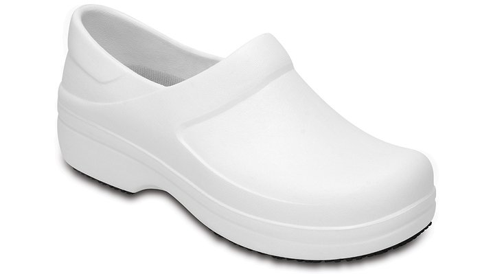 Crocs Pfd White Women's Neria Pro Clogs Shoes