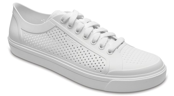 Crocs White / White Men's Citilane Roka Court Shoes