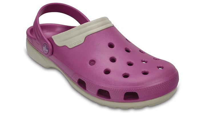 Crocs Wild Orchid / Stucco Duet Shoes