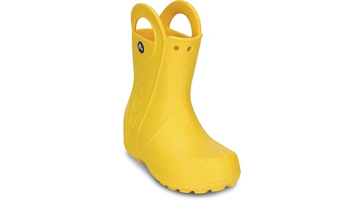 Crocs Yellow Kids' Handle It Rain Boot Shoes