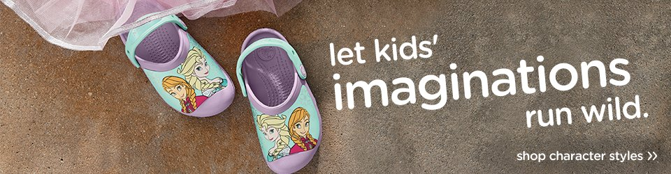 Kids' Character Clogs