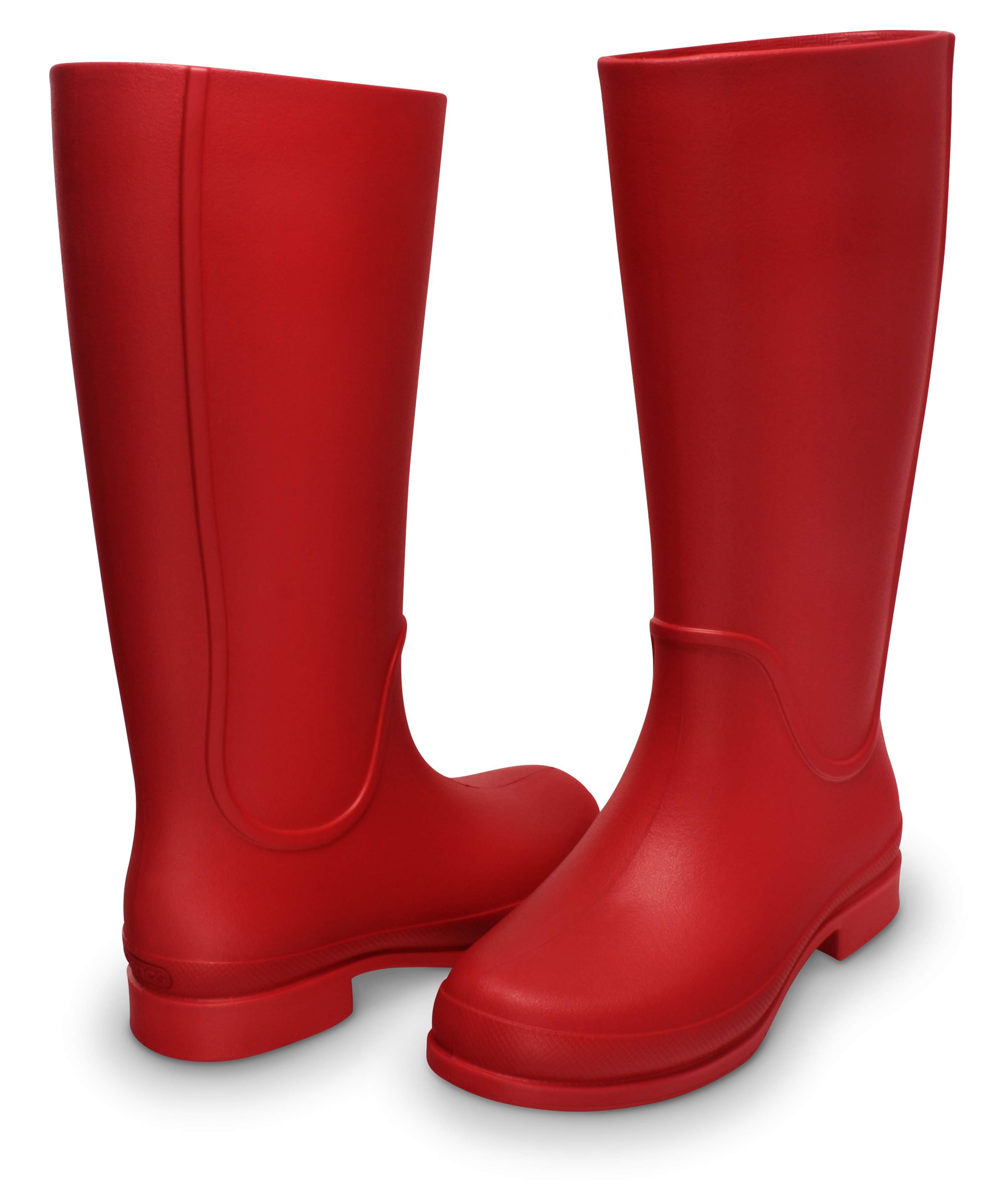 <クロックス公式> ウェリー レインブーツ ウィメン - Wellie Rain Boot W (送料無料)画像