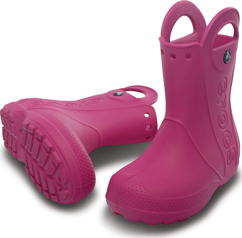 <クロックス公式> ハンドル イット レイン ブーツ キッズ - Handle It Rain Boot Kids (送料無料)画像