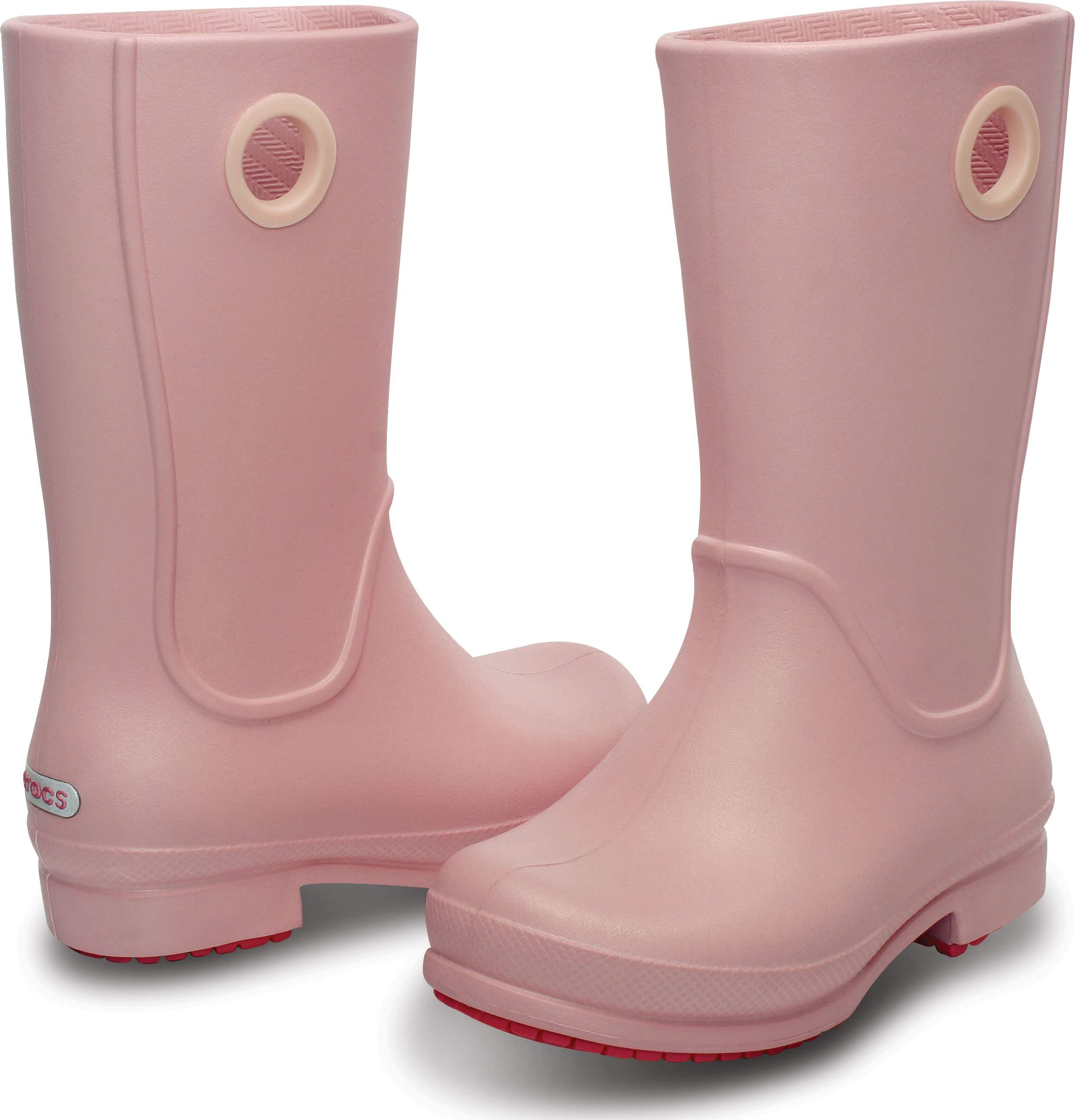 <クロックス公式> ウェリー レイン ブーツ ガールズ - Wellie Rain Boot Girls (送料無料)画像
