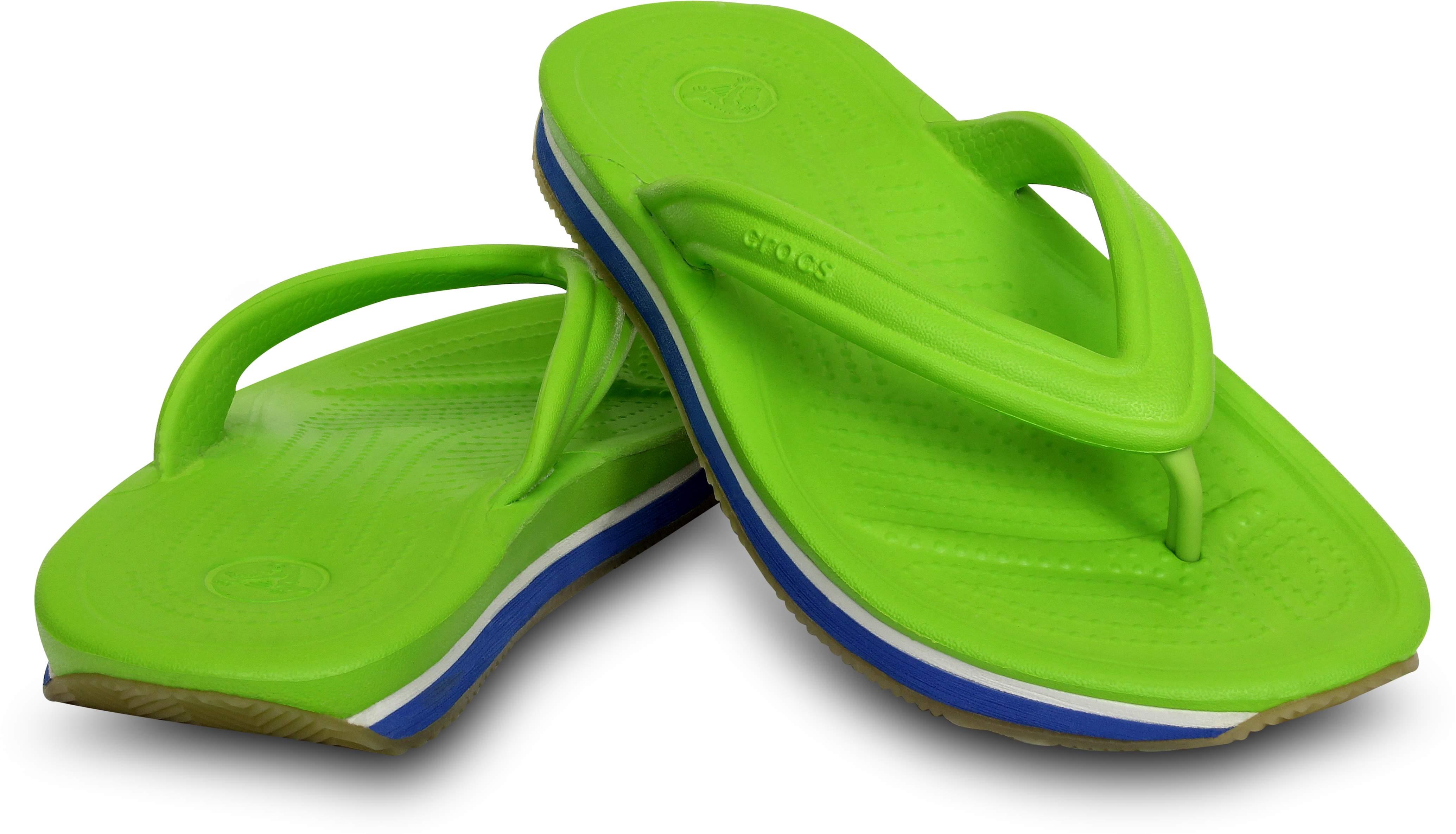 <クロックス公式> クロックス レトロ フリップフロップ キッズ - Crocs Retro Flip-Flop Kids (送料無料)