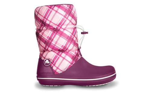 Crocband™ Winter Boot Plaid