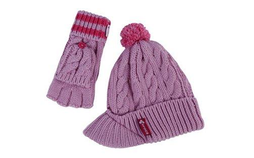 Women's Brimmed Beanie Knit Set