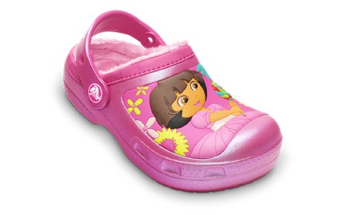 Creative Crocs Dora™ Lollipops & Flowers Lined Clog
