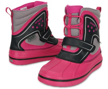 crocs kids allcast waterproof duck boot juniors kids. Black Bedroom Furniture Sets. Home Design Ideas