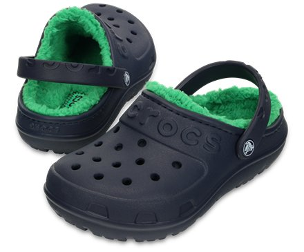 Kids' Crocs Hilo Lined Clog