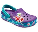 Kids' Crocband™ Princess Ariel™ Clogs