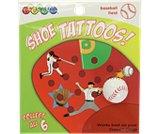 Baseball Field Shoe Tattoos