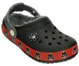 Kids' Crocband™ Darth Vader™ Fuzz Lined Clog