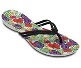 crocs isabella graphic flip w
