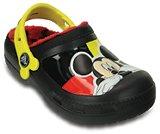 creative clog Mickey lined clog kids