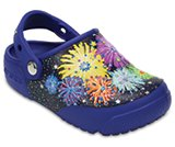 Crocs Fun Lab Lights Fireworks Clogs