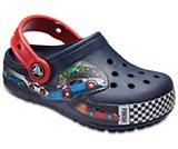 Kids' Crocband™ Fun Lab Graphic Lights Clogs
