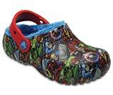 Kids' Crocs Fun Lab Fuzz Lined Avengers™ Clog