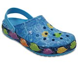 Crocband™ Lights Fish Clogs
