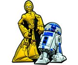 A product thumbnail of  C3PO and R2D2
